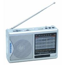 Радиоприемник HYUNDAI H-PSR160, серебристый