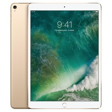 "Планшет Apple iPad Pro 2017 MPMG2RU/A A10X Fusion 6С/RAM4Gb/ROM512Gb 10.5"" Retina 2224x1668/3G/4G/iOS/золотистый/12Mpix/7Mpix/BT/GPS/WiFi/Touch/9hr"