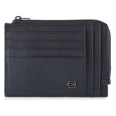 Чехол для кредитных карт Piquadro Black Square PU1243B3R/BLU темно-синий натур.кожа