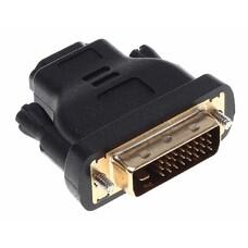 Адаптер BURO DVI-D (m) - HDMI (f), GOLD , черный [bhp ret ada_hdmi-dvi]