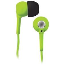 Наушники BBK EP-1200S, вкладыши, зеленый, проводные