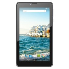 Планшет DIGMA Plane 7548S 4G, 1GB, 16GB, 3G, 4G, Android 7.0 черный