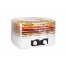 Сушилка для овощей и фруктов SUPRA DFS-527, белый, 5 поддонов