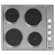 Варочная панель BEKO HIZE 64101 X, электрическая, независимая, нержавеющая сталь