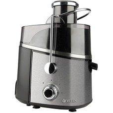 Соковыжималка VITEK VT-3657-01, цитрусовая, серебристый и черный