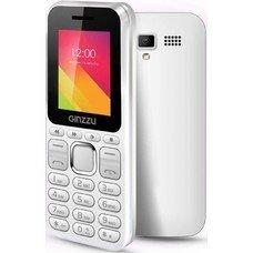 Мобильный телефон GINZZU M102D mini,  белый