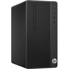 Компьютер HP 290 G1, Intel Core i3 7100, DDR4 4Гб, 1000Гб, Intel HD Graphics 630, DVD-RW, Free DOS, черный [2mt21es]