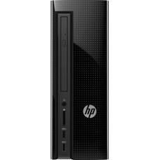 Компьютер HP 260-a102ur, AMD E2 7110, DDR3L 4Гб, 500Гб, AMD Radeon R2, DVD-RW, Windows 10, черный [z0j78ea]