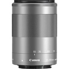 Объектив Canon EF-M IS STM (1122C005) 55-200мм f/4.5-6.3 серебристый