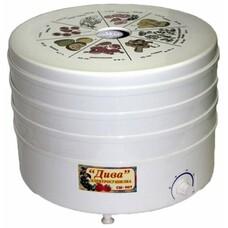 Сушилка для овощей и фруктов РОТОР Дива СШ-007-06, белый, 3 поддона
