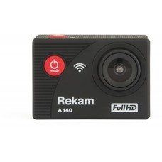 Экшн-камера REKAM A140 1080p, WiFi, черный [2680000005]