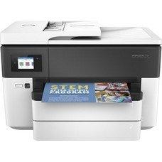 МФУ струйный HP Officejet Pro 7730, A3, цветной, струйный, белый [y0s19a]