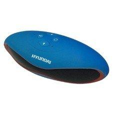 Колонки Hyundai H-PAC120 1.0 синий 3Вт беспроводные BT