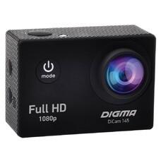 Экшн-камера DIGMA DiCam 145 1080p, черный [dc145]