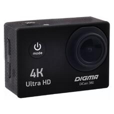 Экшн-камера DIGMA DiCam 380 4K, черный [dc380]