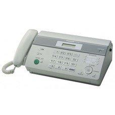 Факс PANASONIC KX-FT982RU-W, на термобумаге, белый