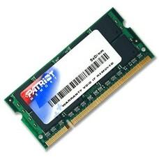 Модуль памяти PATRIOT PSD22G8002S DDR2 - 2Гб 800, SO-DIMM, Ret