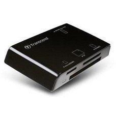 Устройство чтения карт памяти USB2.0 Transcend TS-RDP8K черный
