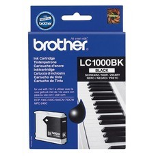 Картридж струйный Brother LC1100BK черный для Brother DCP-385C/6690CW/MFC-990CW/ (450стр.)