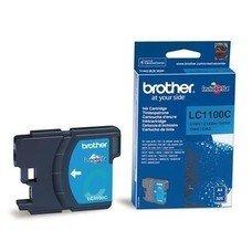 Картридж струйный Brother LC1100C голубой для Brother DCP-385C/6690CW/MFC-990CW/ (325стр.)