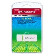 Устройство чтения карт памяти USB2.0 Transcend TS-RDP5W белый