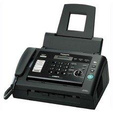 Факс PANASONIC KX-FL423RUB, лазерный, черный [KX-FL423RU-B]