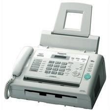 Факс PANASONIC KX-FL423RUW, лазерный, белый [KX-FL423RU-W]