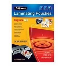 Пленка для ламинирования FELLOWES CRC53067, 125мкм, 64х95 мм, 100шт., глянцевая, Key Card
