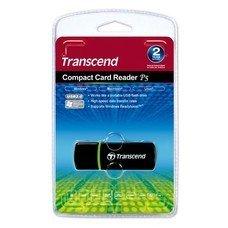 Устройство чтения карт памяти USB2.0 Transcend TS-RDP5K черный