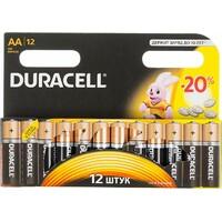 Батарея DURACELL Basic LR6-12BL, 12 шт. AA