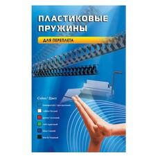 Пружина пластиковая OFFICE KIT BP2000, 6мм, 16 - 30 листов, A4, 100, черный