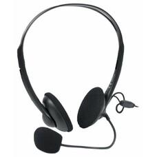 Наушники с микрофоном A4 HS-6, накладные, черный