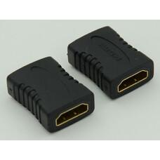 Адаптер аудио-видео HDMI (f) - HDMI (f) , черный