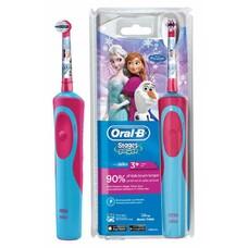 Электрическая зубная щетка ORAL-B Stages Power Frozen голубой [80279915]