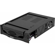 Mobile rack (салазки) для HDD AGESTAR MR3-SATA(S)-1F, черный