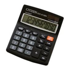 Калькулятор CITIZEN SDC-810BN, 10-разрядный, черный