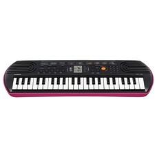 Синтезатор CASIO SА-78, 44, невзвешенная, малоразмерные, 8, розовый [sa-78]