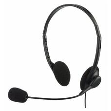 Наушники с микрофоном OKLICK HS-M143VB, накладные, черный