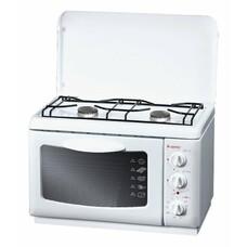 Газовая плита GEFEST ПГЭ 120, электрическая духовка, белый