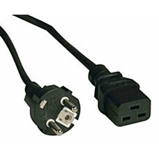 Кабель Tripplite 2-Prong European Power Cord, 16A (IEC-320-C19 to S