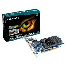 Видеокарта GIGABYTE nVidia GeForce 210 , GV-N210D3-1GI, 1Гб, DDR3, Low Profile, Ret