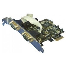 Контроллер PCI-E MS9922 2xCOM Bulk [asia pcie 2s]