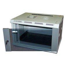 Шкаф коммутационный Lanmaster (TWT-CBWL-12U-6X4 ) 12U 600x450мм пер.дв.стекл несъемн.бок.пан. 30кг с