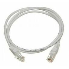Патч-корд LANMASTER TWT-45-45-0.5-GY литой (molded), UTP, cat.5E, 0.5м, 1 шт, серый