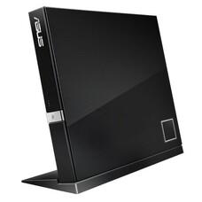 Оптический привод Blu-Ray ASUS SBW-06D2X-U/BLK/G/AS, внешний, USB, черный, Ret