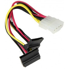 Кабель SuperMicro CBL-0082L 4pin to 2x SATA Extension