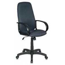 Кресло руководителя БЮРОКРАТ Ch-808AXSN, на колесиках, ткань, темно-серый [ch-808axsn/tw-12]