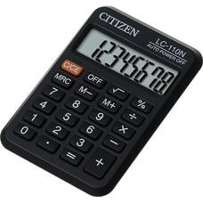 Калькулятор CITIZEN LC-110N, 8-разрядный, черный