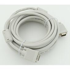 Кабель VGA DB15 (m) - DB15 (m), ферритовый фильтр , 10м [cable10]