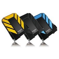 Внешний жесткий диск A-DATA DashDrive Durable HD710, 1Тб, желтый [ahd710-1tu3-cyl]